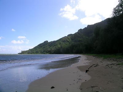 More Kahana it is a nice swimming beach