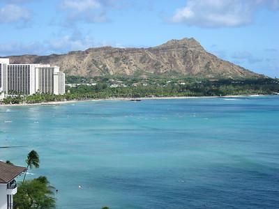 2006-07-27 to 7-30 Waikiki Beach - Birdseye views
