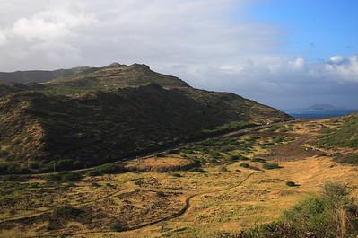 Eastern Shore of Oahu, Hawaii. Taken from hike to Makapuʻu Point.