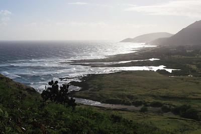 Eastern Shore of Oahu, Hawaii. Taken from hike to Makapuʻu Point.