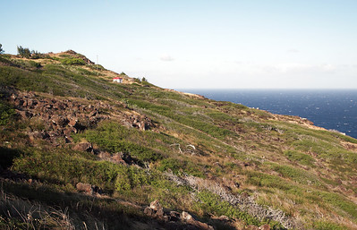 Hike to Makapuʻu Point, Oahu, Hawaii.