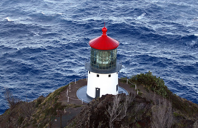 Makapuʻu Point Lighthouse, Oahu, Hawaii.
