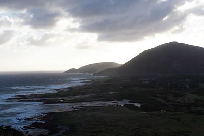 View to the southwest from Makapuʻu Point, Oahu, Hawaii.