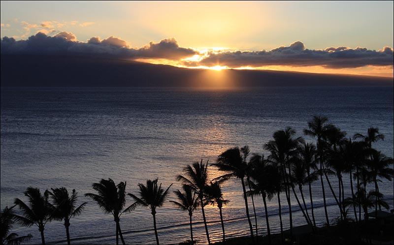 Sunset, Maui