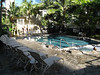 Honolulu - Wyland Hotel, Pool area (with smaller Jacuzzi pool in the foreground).