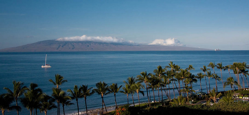 Maui - A View of the Island of Lanai