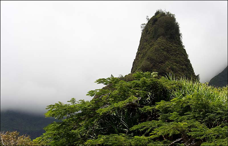 The Iao Needle, Iao Valley, Maui
