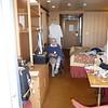 Mom in the veranda cabin