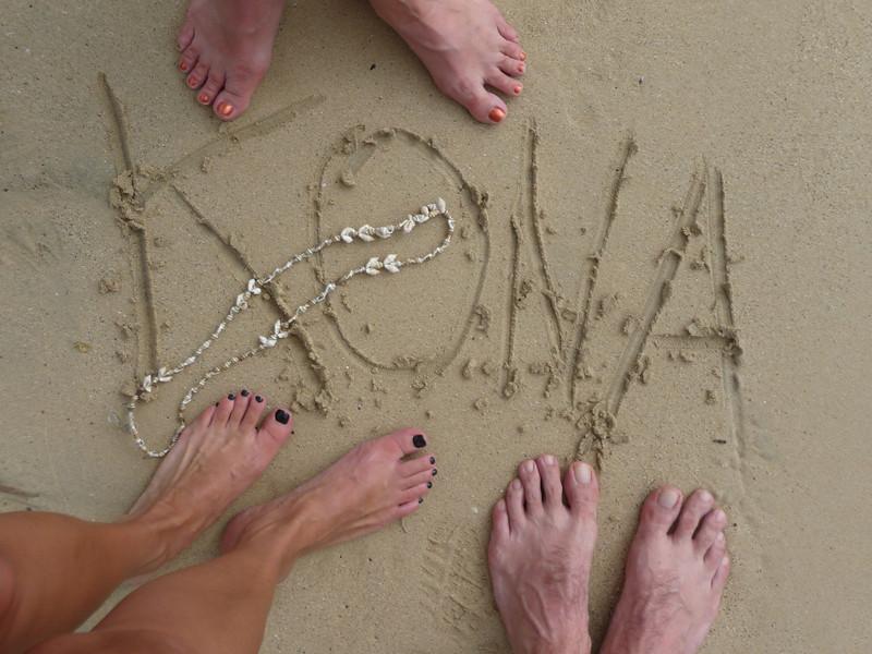 Kona feet picture