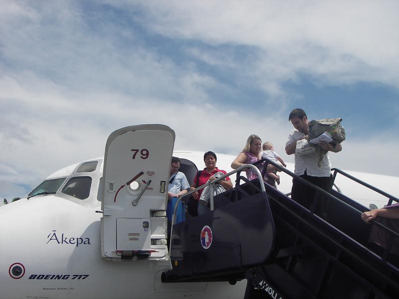 May 20 - Arriving at Kona