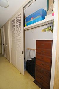 Master B/R Closet, door open