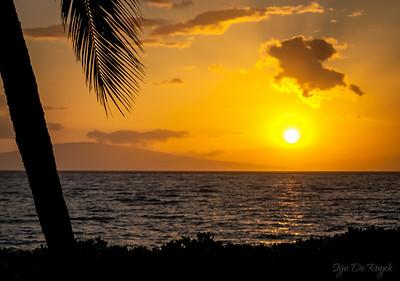 Sunset @ Kamaole Beach Park, Kihei