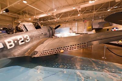 Douglas SBD Dauntless, Pacific Aviation Museum, Pearl Harbor