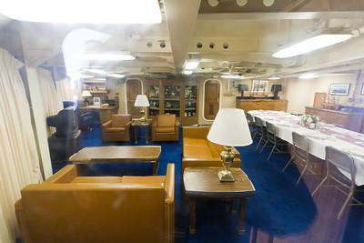USS Missouri captain's cabin , Pearl Harbor