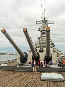 USS Missouri, Pearl Harbor