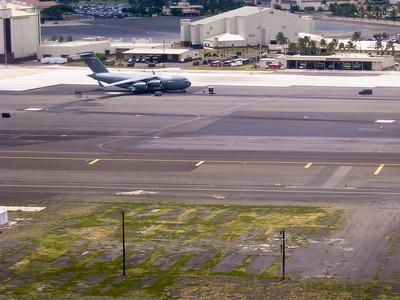 C17 at Hickam Air Force Base