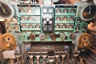 USS Bowfin engine room, Pearl Harbor