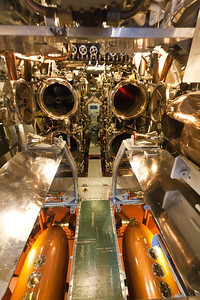 USS Bowfin front torpedo room, Pearl Harbor