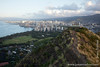 Diamond Head Crater Rim, Honolulu and Waikiki