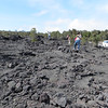 """This seems very much like the lava flows on top of the Sisters, so I was a little bit """"seen it"""" on these stops.  Most people are not lucky enough to live in Oregon, however, so there was a lot of picture taking going on."""