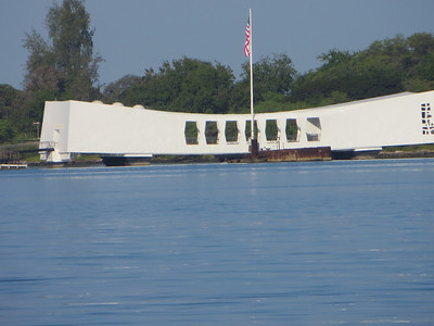 The Arizona memorial was designed by a German architect, Alfred Preis.