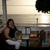 Thanksgiving Dinner & a sunset at Lahaina Pizza Co. <i>Maui, Hawaii</i>