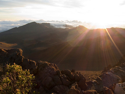 Sunrise, Mt. Haleakala Maui, Hawaii