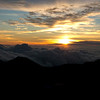 Sunrise over the clouds, Mt. Haleakala <i>Maui, Hawaii</i>