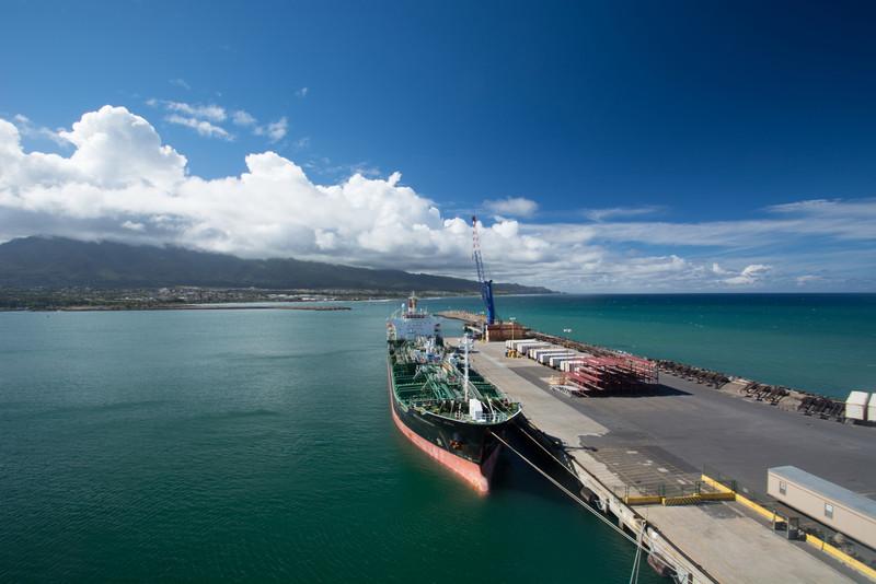 Chemical tanker at Maui