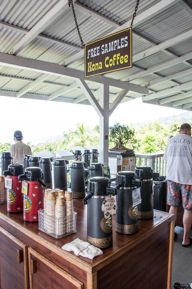 Kona coffee break