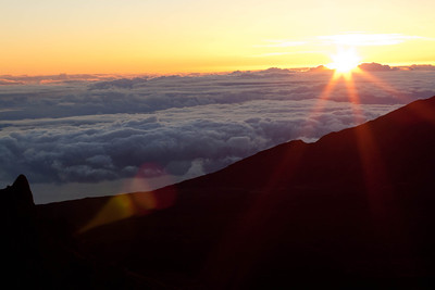 Sunrise at Haleakala on Maui