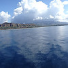 Diamond Head. Atlantis Adventures Navatek Whale Watch Cruise, Honolulu, Hawaii, 03/28/2014