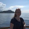 Me in front of Diamond Head. Atlantis Adventures Navatek Whale Watch Cruise, Honolulu, Hawaii, 03/28/2014