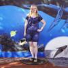 My commemorative picture. Atlantis Adventures Navatek Whale Watch Cruise, Honolulu, Hawaii, 03/28/2014