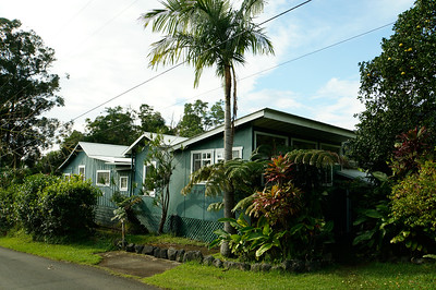 Marsha's house in Pahala