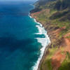 Napali coast , Kauai