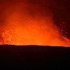 Glowing lava inside the Halema'uma'u Crater