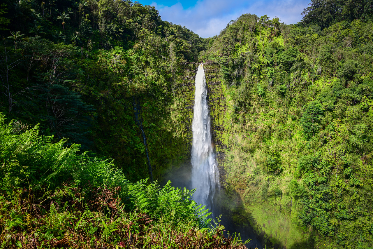 Akaka Falls on the Big Island, HI - March 2018