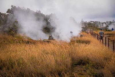 Mauna Loa Volcano Vent - Hawaii
