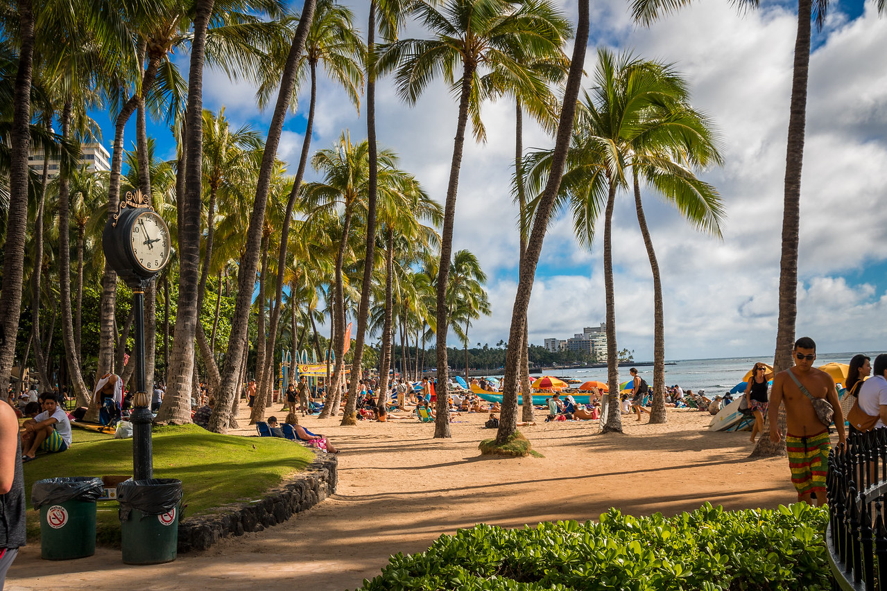 Waikiki Beach - Honolulu - Oahu