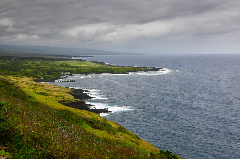 View along the Kona Coast, Big Island, HI - March 2018