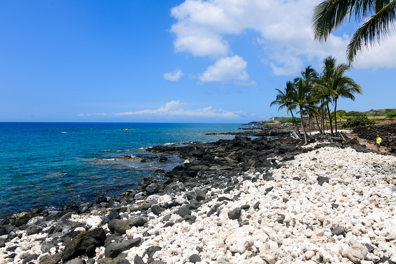 Shoreline at Lapakahi State Historical Park on the Big Island, HI - March 2018
