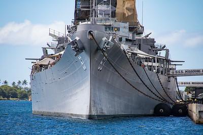 USS Missouri - Pearl Harbor
