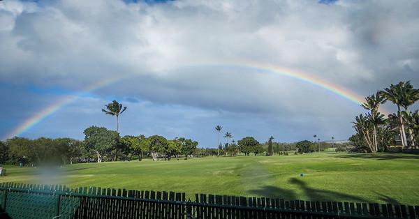 Rainbow on Maui