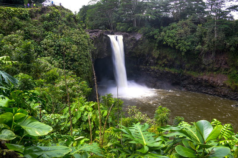 Rainbow Falls near Hilo on the Big Island, HI - March 2018