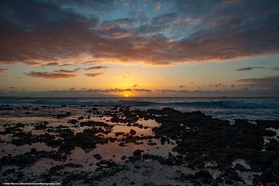 Sunset at Anaehoomalu