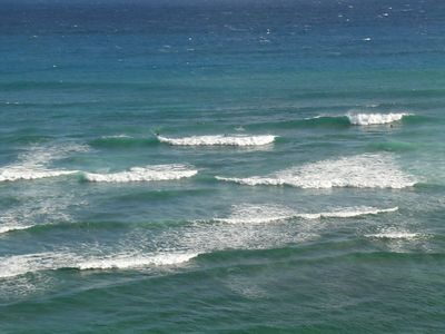 Just some waves along the South shore of the Island