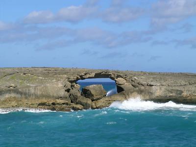The Kukehoolua Sea Arch