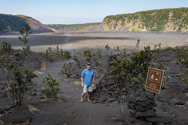 Floor of th Kilaueau Iki Crater