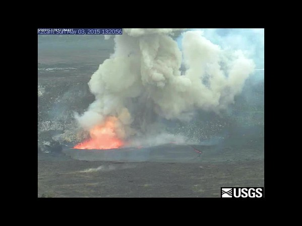 USGS Video of Explosion